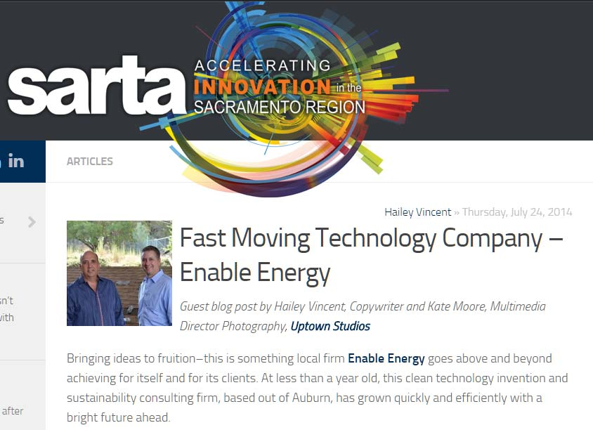 Fast Moving Technology Company – Enable Energy