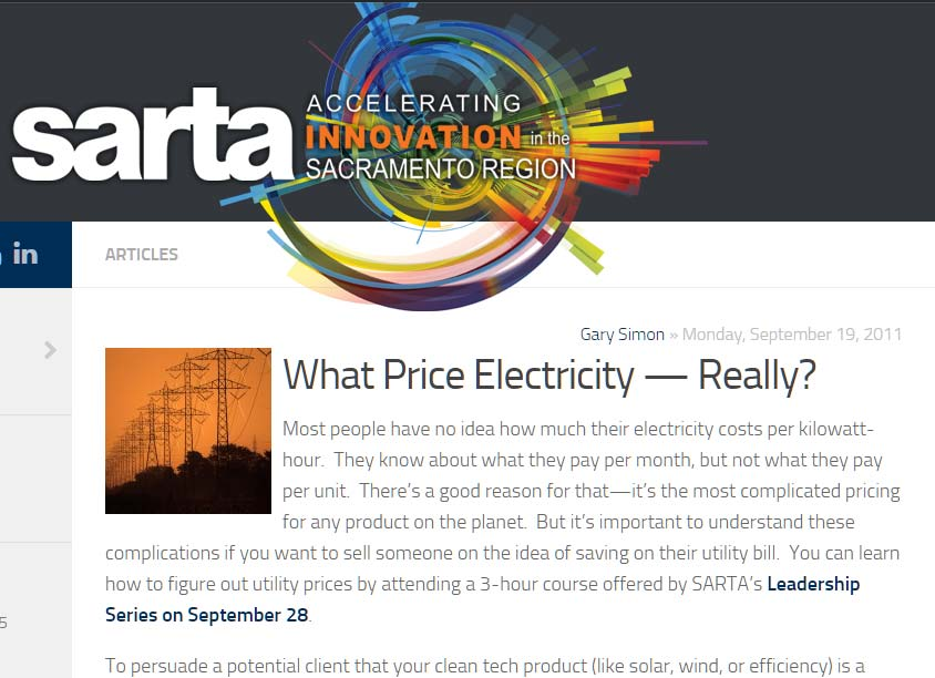 What Price Electricity — Really?