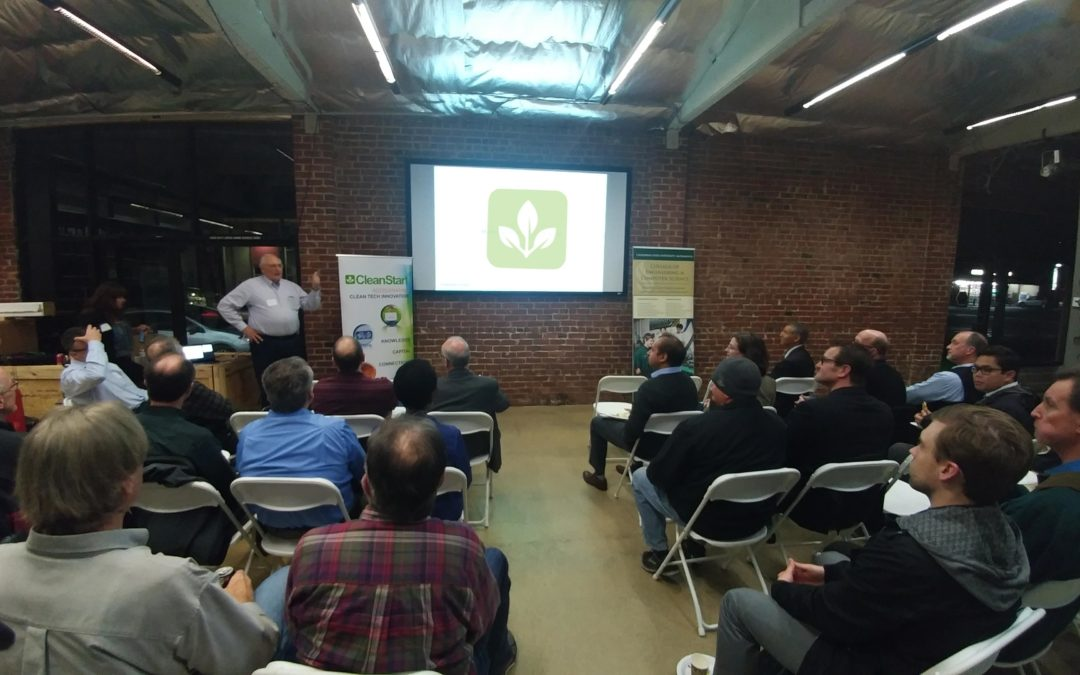 First CleanTech Meetup Draws a Crowd