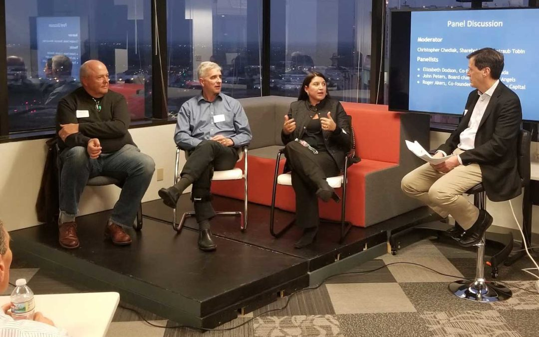 Startups Encouraged after engaging with panel of active investors.