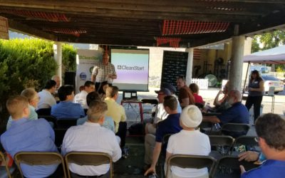 Lots of Energy was Generated at our June CleanTech Meetup