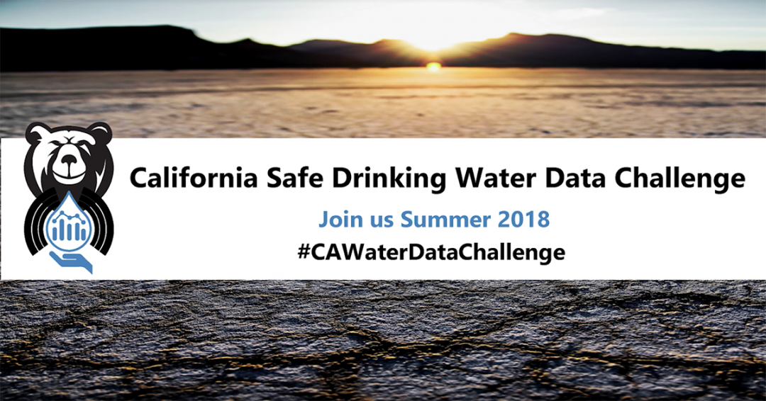 California Open Data and a Clean Water Challenge