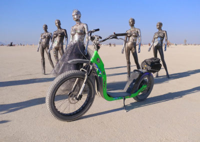Cruiser on the Playa