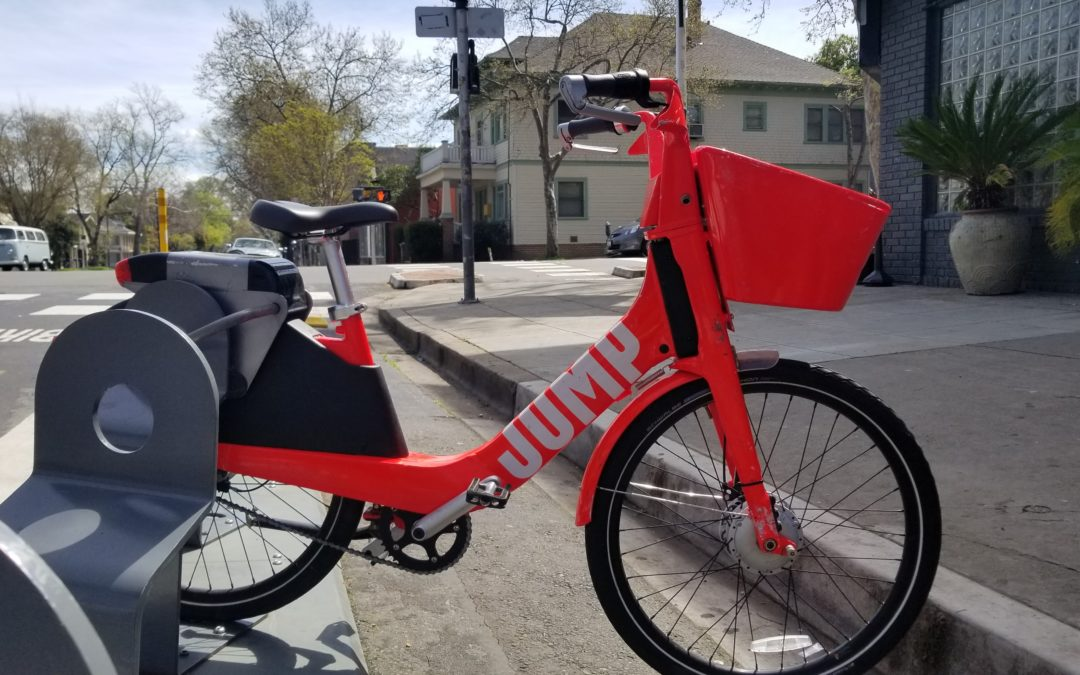 Orange is the New Bike: JUMP Bikes in Sacramento
