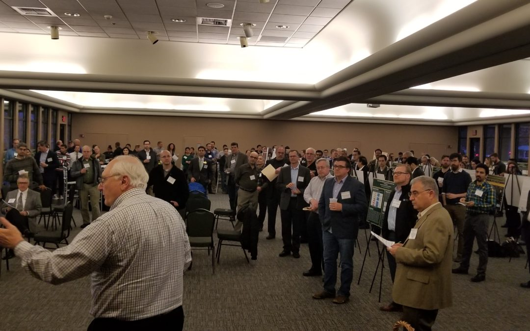 """Double Feature"" MeetUp Attracts Big Crowd, Piezoeletric Roadways and Alternate Fuels Discussed"