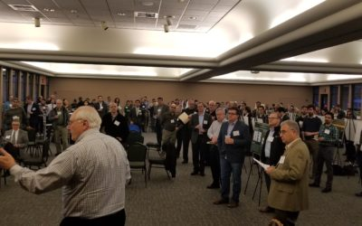 """""""Double Feature"""" MeetUp Attracts Big Crowd, Piezoeletric Roadways and Alternate Fuels Discussed"""