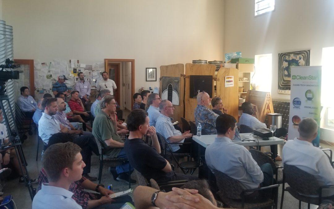 Sage advice to Startups at Davis Meet Up