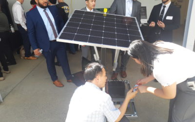 Seniors' Projects Displayed at Sac State Engineering and Computer Science Showcase