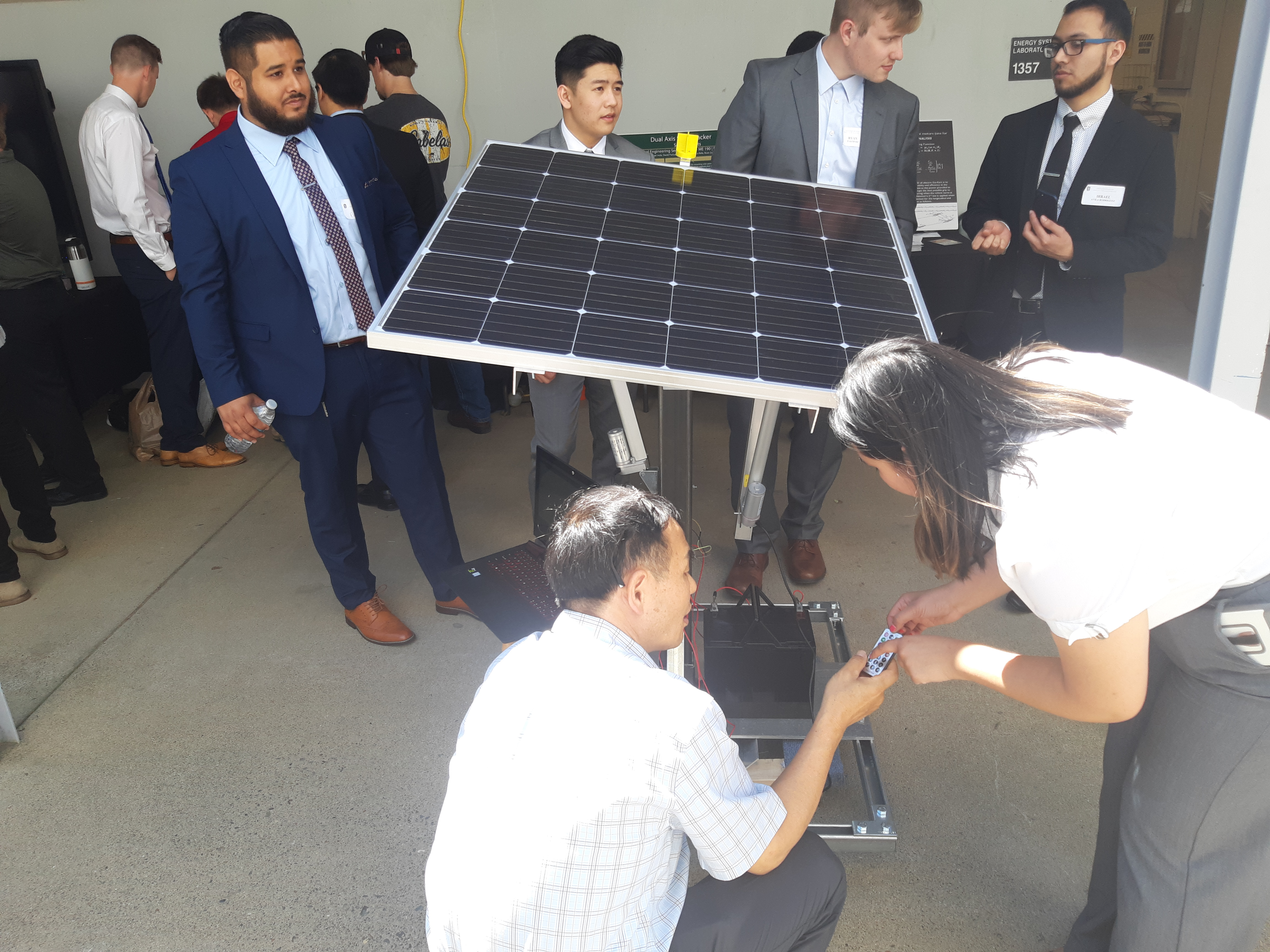 Sac State Engineering Solar Project
