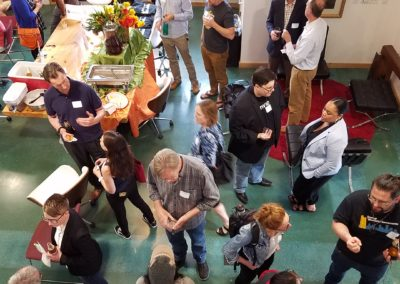Cleantech Meetup Attendees at Uptown