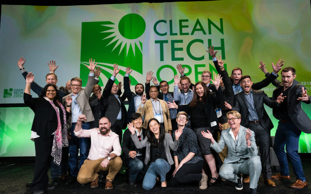 Three Regional Companies in Cleantech Open West Competition