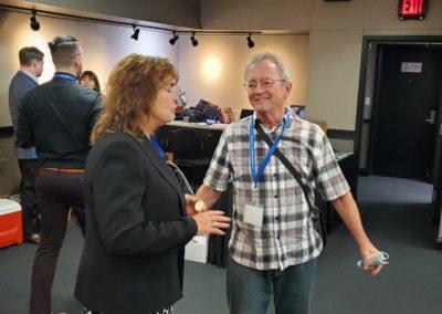 Ingrid Rosten and Mark Henwood CleanStart