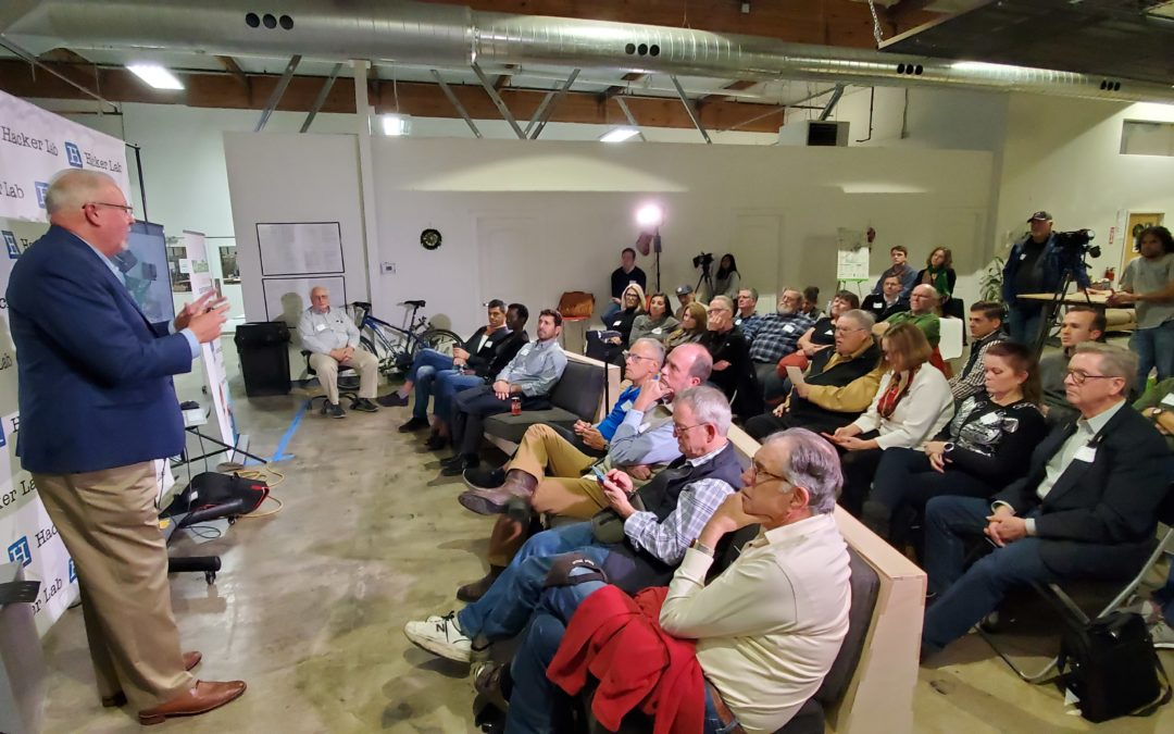 Packed Crowd Hears about Rising Stars of Solar