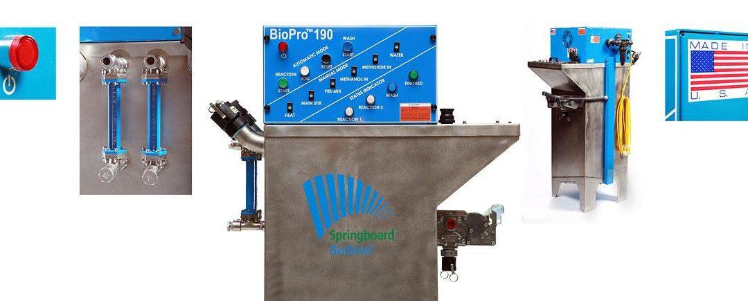 Chico based Springboard Bio-diesel Delivers Global