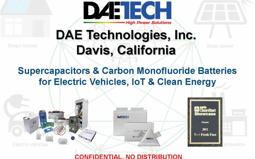 DAE Technology Presents at 1MC