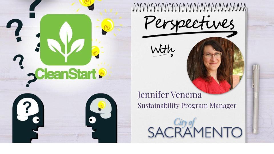 Perspectives with Jennifer Venema, City of Sacramento